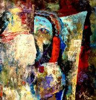 Transition 15x15 Original Painting by Arbe Berberyan    - 0