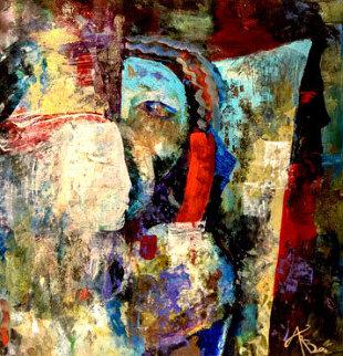 Transition 15x15 Original Painting - Arbe Berberyan