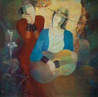 Love Me, Love My Music AP 1998 Limited Edition Print by Arbe Berberyan