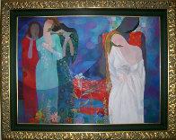 Love Song 36x48 Super Huge Original Painting by Arbe Berberyan    - 1