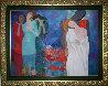 Love Song 36x48 Original Painting by Arbe Berberyan    - 1