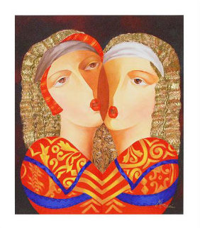 Women in Love Limited Edition Print by Arbe Berberyan