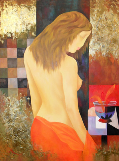 This Is the Moment 2009 Embellished Limited Edition Print by Arbe Berberyan
