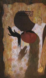 Love At Last 2000 48x36 Huge Original Painting - Arbe Berberyan