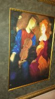 Moonlight Serenade Embellished 1998 Limited Edition Print by Arbe Berberyan    - 4