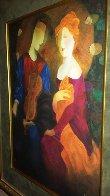 Moonlight Serenade Embellished 1998 Limited Edition Print by Arbe Berberyan    - 3