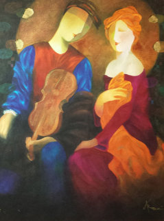 Moonlight Serenade Embellished 1998 Limited Edition Print - Arbe Berberyan