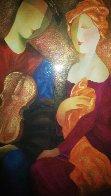 Moonlight Serenade Embellished 1998 Limited Edition Print by Arbe Berberyan    - 2