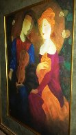 Moonlight Serenade Embellished 1998 Limited Edition Print by Arbe Berberyan    - 1