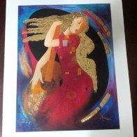 Lyrical Transportation AP 2003 Embellished Limited Edition Print by Arbe Berberyan    - 1