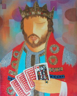 King of Hearts 2009 Limited Edition Print by Arbe Berberyan