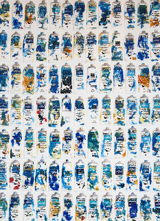 Tubes Bleues 2002 Limited Edition Print by Arman Arman