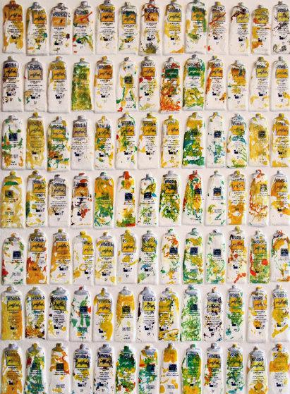 Tubes Jaunes 2002 Limited Edition Print by Arman Arman