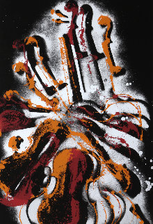 Diabelli Variations, Violin  1980 Super Huge Limited Edition Print - Arman Arman