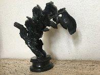 La Victoire De Samothrace Bronze Sculpture 1986 10 in Sculpture by Arman Arman - 1