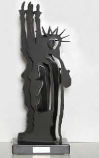 Le Fantome De Liberte Iron Sculpture 2000 21 in Sculpture - Arman Arman