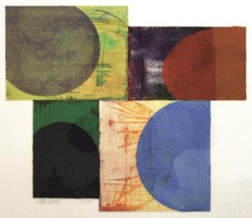 Untitled Unique Monoprint 2003 32x37 Limited Edition Print by Charles Arthur Arnoldi