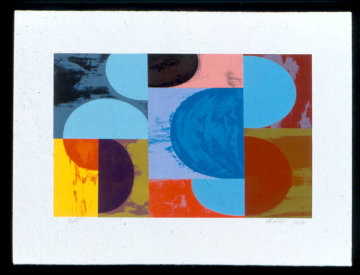 Untitled Set of 2 Lithographs 2002 Limited Edition Print by Charles Arthur Arnoldi