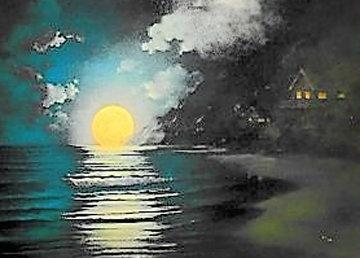 Enchanted Rendezvous 2005 48x63 Original Painting -  Arozi