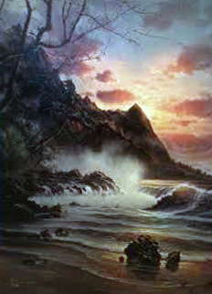 Sunrise Grandeur 2004 Limited Edition Print by  Arozi