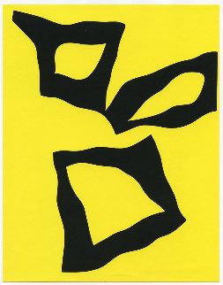 Place Selon Les Lois Du Hasard 1964 Limited Edition Print - Hans Arp