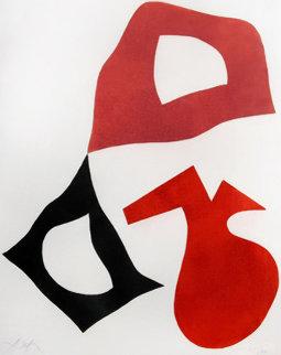 Trois Formes Limited Edition Print - Hans Arp