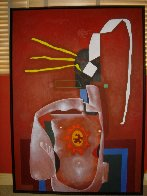 Els Catalans X 1997 65x47 Super Huge Original Painting by Eduardo Arranz-Bravo - 1