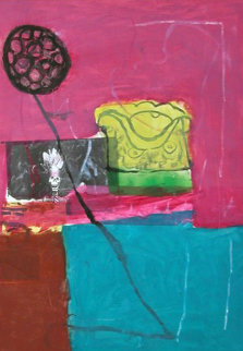 Untitled Monotype 1994 41x30 Works on Paper (not prints) by Gustavo Ramos Rivera
