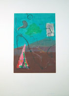 Untitled #5 Monotype 41x30 Works on Paper (not prints) by Gustavo Ramos Rivera - 1