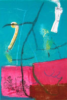 Untitled #6 Monotyoe 1994 41x30 Works on Paper (not prints) by Gustavo Ramos Rivera - 0