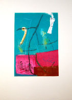 Untitled #6 Monotyoe 1994 41x30 Works on Paper (not prints) by Gustavo Ramos Rivera - 1