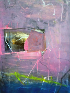 Untitled #7 Monotype 1994 31x30 Works on Paper (not prints) - Gustavo Ramos Rivera