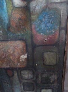 Untitled Painting 1969 40x36 Original Painting by Gustavo Ramos Rivera