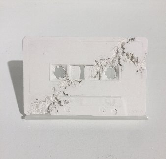 Cassette Tape (Future Relic Fr-04) 2015 Sculpture - Daniel Arsham