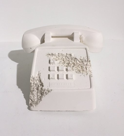 Telephone (Future Relic Fr-05) Sculpture 2016 Sculpture by Daniel Arsham