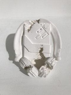 Cassette Player (Sony Walkman) Future Relic-07 Plaster Sculpture 2017 6 in  Sculpture - Daniel Arsham