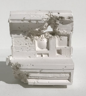 Polaroid Plaster Sculpture  (Future Relic 06) 2016  6 in Sculpture by Daniel Arsham