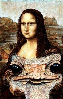 Mystery of Mona AP  Limited Edition Print - D. Arthur Wilson
