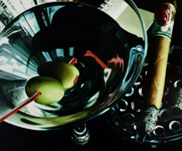 Martini Cigar 2001 Limited Edition Print - Thomas Arvid