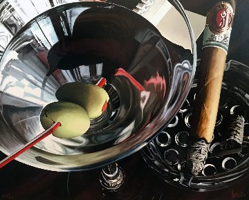 Martini Cigar 2001 Limited Edition Print by Thomas Arvid