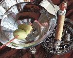 Martini-cigar 2001 Limited Edition Print - Thomas Arvid