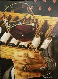 Don Panoz Chateau Elan 40x30 Super Huge Original Painting - Thomas Arvid