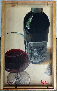 It Stands Alone Silver Oak Limited Edition in Wine Crate Limited Edition Print by Thomas Arvid