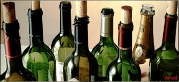 Eight Empties 2004 Limited Edition Print by Thomas Arvid