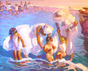 Beach At Del Mar AP 1993 Limited Edition Print - John Asaro
