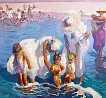 Beach At Del Mar Limited Edition Print - John Asaro