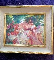 Story Time 1992 25x28 Original Painting by John Asaro - 2
