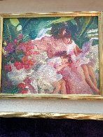 Story Time 1992 25x28 Original Painting by John Asaro - 1