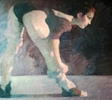 Ballerina 1981 26x30 Original Painting - John Asaro