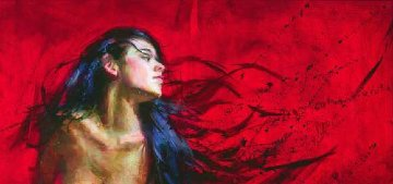 Whisper Embellished 2005 Limited Edition Print - Henry Asencio